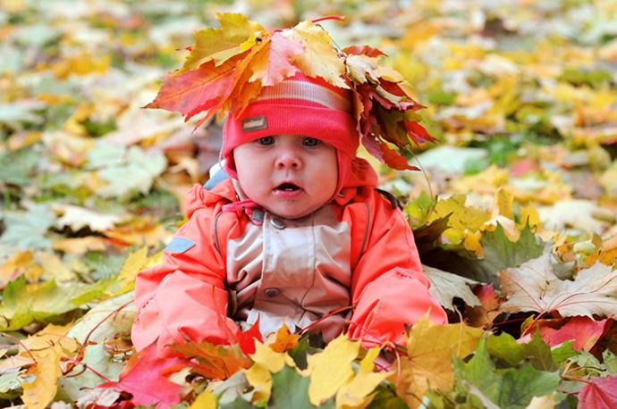 Autumn and Children.