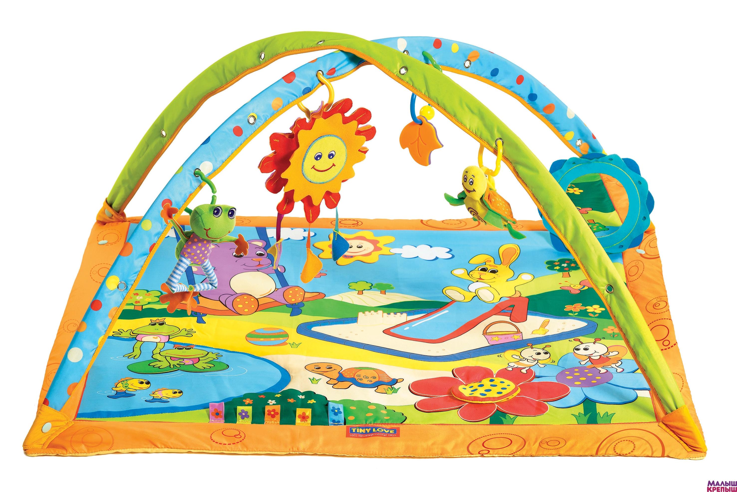 Развивающий коврик для детей от 0 до 1 лет своими руками